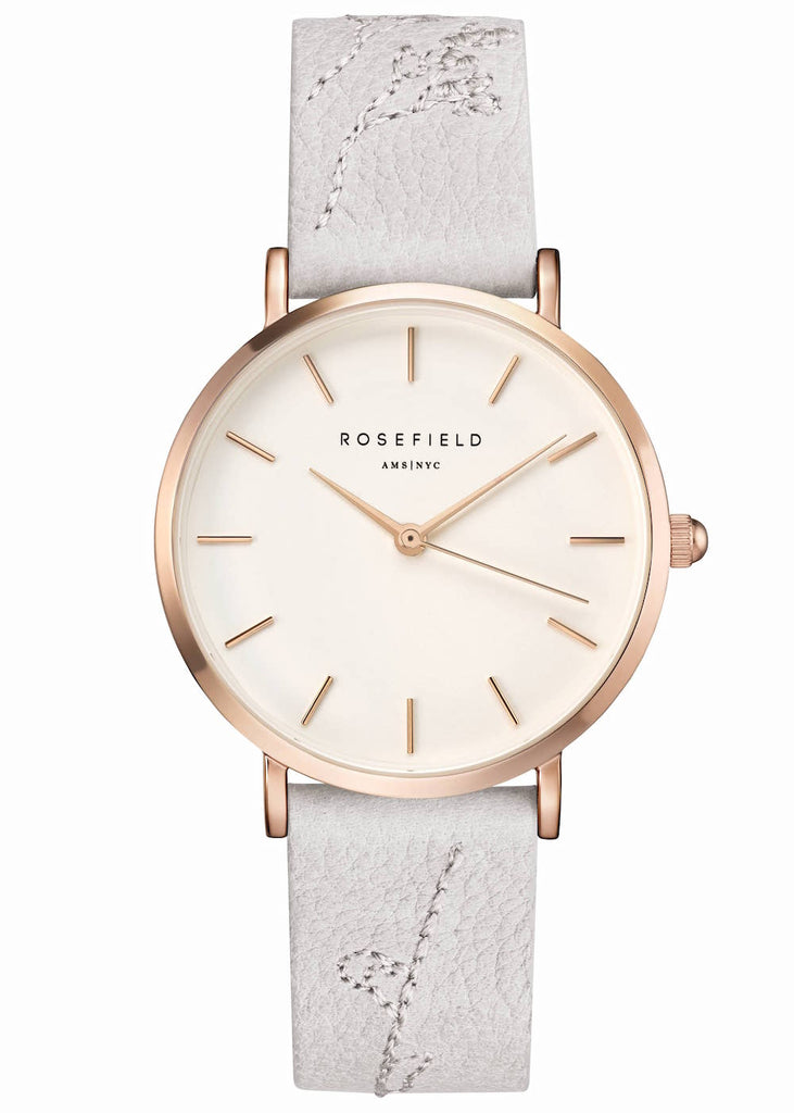 Rosefield-City Bloom Lily White Rose Gold-Watch-RF-CILIR-E93-THE UNIT STORE