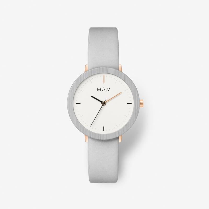 MAM ORIGINALS-Ferra Light Maple Pearl 33 mm-Watch-MAM-640-THE UNIT STORE