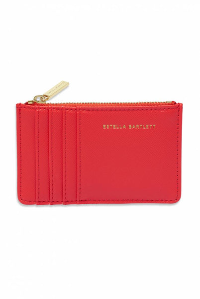 Card Purse - Coral - Imagination Rules T.W.