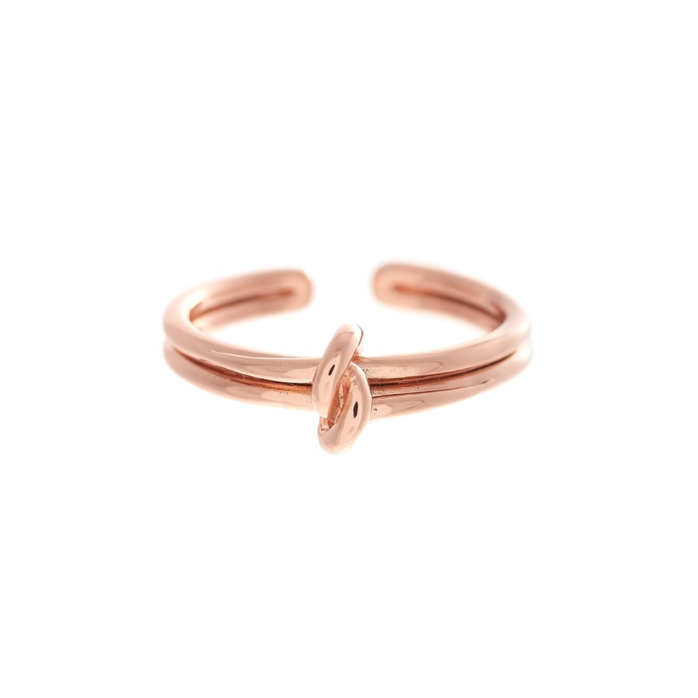 OLIVIA BURTON-Forget Me Knot Ring RG-Jewellery-OBJ16KDR02-THE UNIT STORE