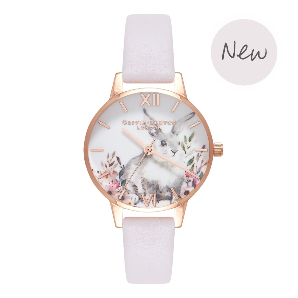 OLIVIA BURTON-Illustrated Animals Blush & Rose Gold-Watch-OB16WL66-THE UNIT STORE