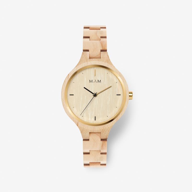 MAM ORIGINALS-Silt Maple 34 mm-Watch-MAM-606-THE UNIT STORE