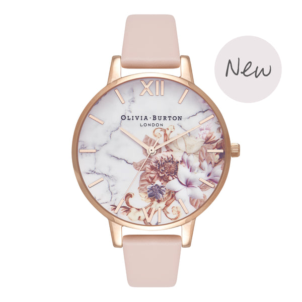 OLIVIA BURTON-Cut & Sew Nude Peach & Rose Gold-Watch-OB16CS12-THE UNIT STORE