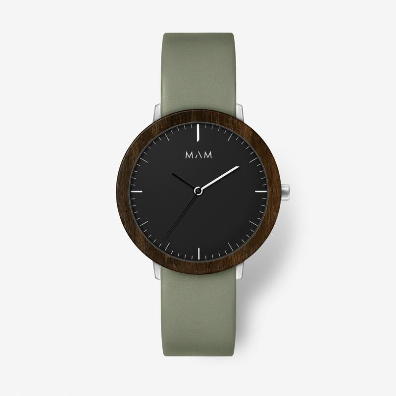 MAM ORIGINALS-Ferra Dark Ebony Sage 39 mm-Watch-MAM-625-THE UNIT STORE