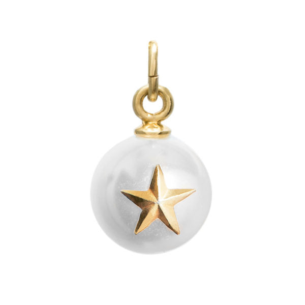 Blue Billie-Pendant Pearl Star Gold Plated-Jewellery-BB2-13T2-02-THE UNIT STORE