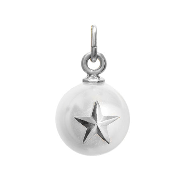 Blue Billie-Pendant Pearl Star Silver-Jewellery-BB2-13T2-01-THE UNIT STORE