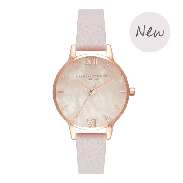 OLIVIA BURTON-Semi Precious Blossom Small Dial & Rose Gold-Watch-OB16SP02-THE UNIT STORE