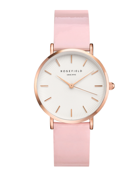 Rosefield-Premium Gloss White Pink Rosegold 33mm-Watch-RF-SHPWR-H37-THE UNIT STORE