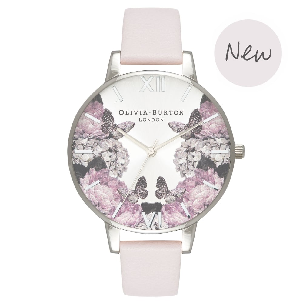 Signature Florals Blush & Silver__OLIVIA BURTON_Watch_THE UNIT STORE