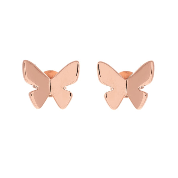 OLIVIA BURTON-Butterfly Wing Stud Earring RG-Jewellery-OBJ16SBE02-THE UNIT STORE