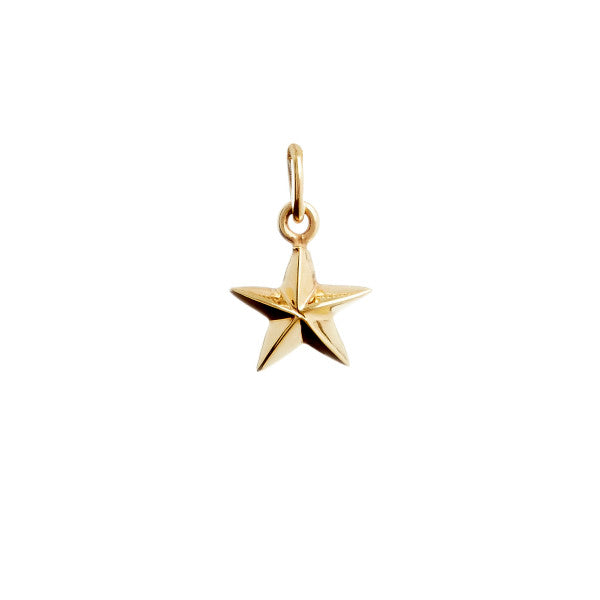 Pendant Star Gold Plated
