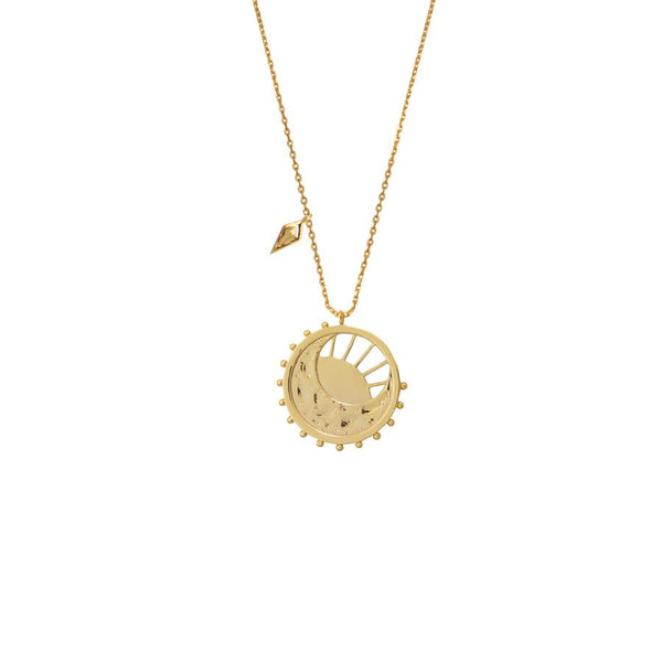 Wanderlust + Co-Dawning of a New Day Gold Necklace-Jewellery-W-N636G-THE UNIT STORE