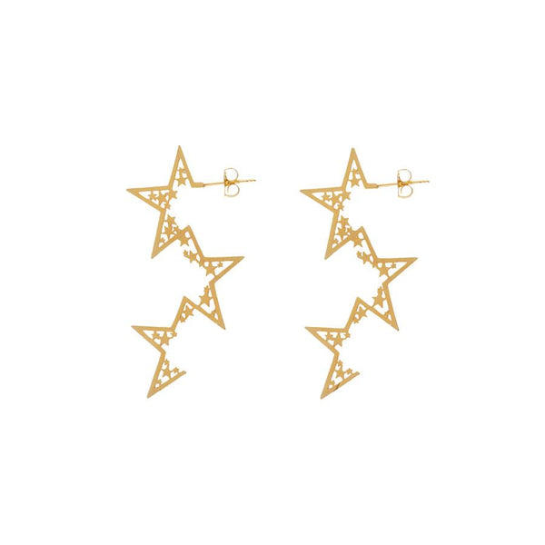 Wanderlust + Co-Supernova Gold Earrings-Jewellery-W-E571G-THE UNIT STORE