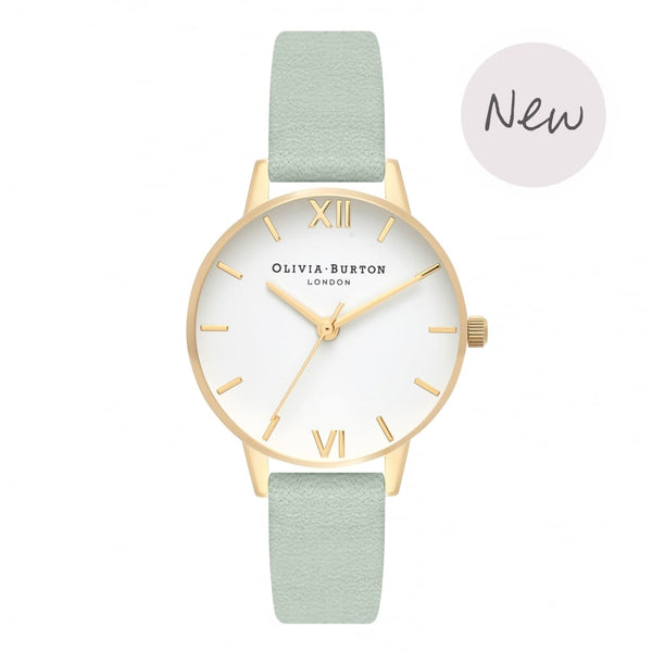 OLIVIA BURTON-White Dial Sage & Gold-Watch-OB16MDW37-THE UNIT STORE