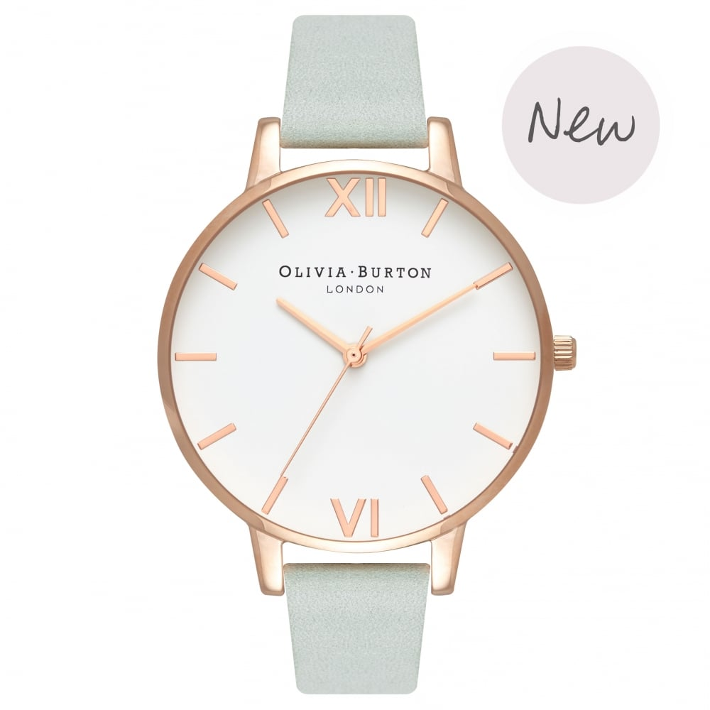 OLIVIA BURTON-White Dial Sage & Rose Gold-Watch-OB16BDW36-THE UNIT STORE