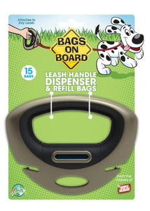 Bags on Board Leash Handle Dispenser (15 bags) - Dawn's Doggy Duds