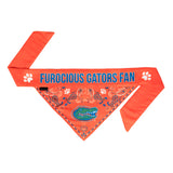 Florida Gators Dog Bandana – Tie On - Dawn's Doggy Duds