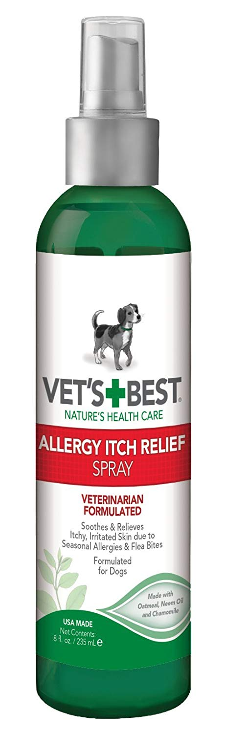 Allergy Itch Relief Spray For Dogs (8 oz)