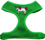 Mirage Pet Products Unicorn Embroidered Soft Mesh Dog Harness