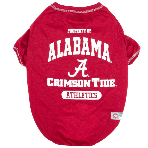 Alabama Crimson Tide Dog Tee Shirt