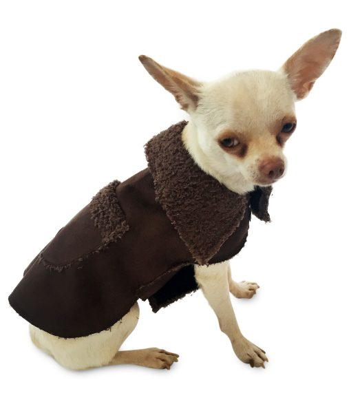 The Dog Squad Boho Dog Coat-Chocolate