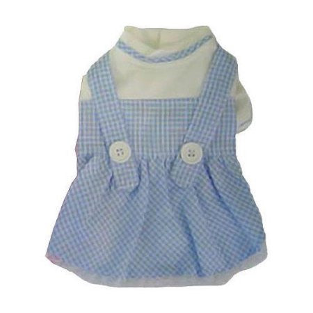 Dorothy Dress - Blue - Dawn's Doggy Duds