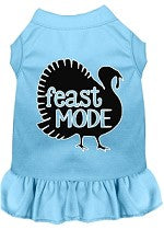 Feast Mode Screen Print Dog Dress
