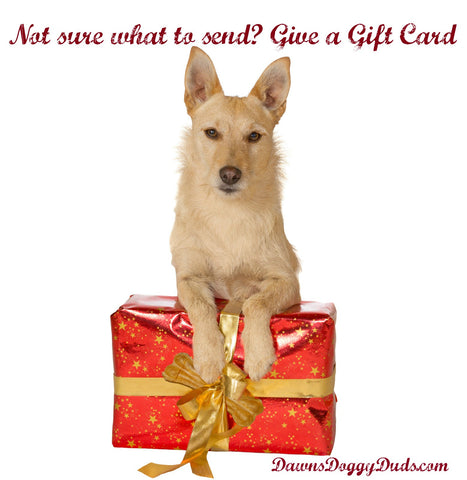 Gift Card - Dawn's Doggy Duds