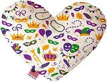8 Inch Heart Dog Toy - Dawn's Doggy Duds