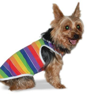 PuppyPAWer by Dogo Rainbow Dog Tank