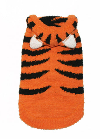 Chenille Tiger Hoodie