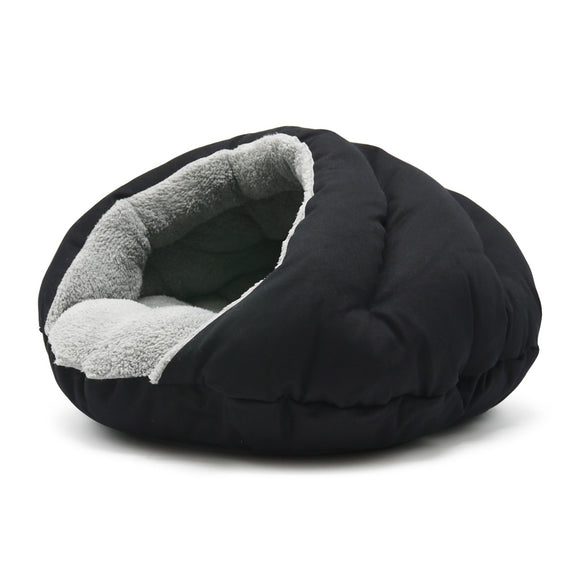 Burger Bed Solid Black