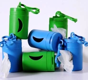 The Green Pet Shop Bio Dispenser Includes 2 Poop Bag Rolls