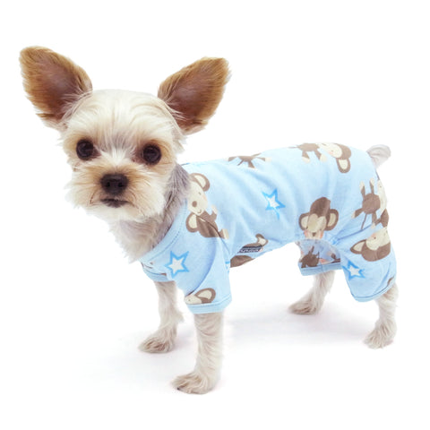 DOGO PJ Monkey Dog Pajamas