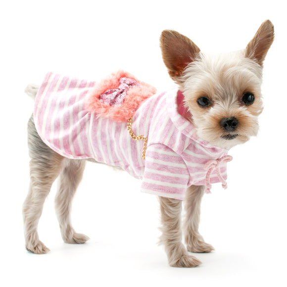 Fuzzy Purse Dress - Dawn's Doggy Duds