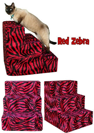 Red Zebra Dog Steps