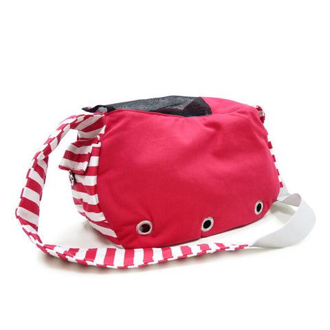 Soft Sling Bag Red - Dawn's Doggy Duds