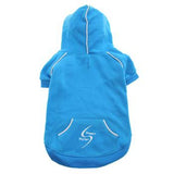 Doggie Design Sport Dog Hoodie - Blue Curacao