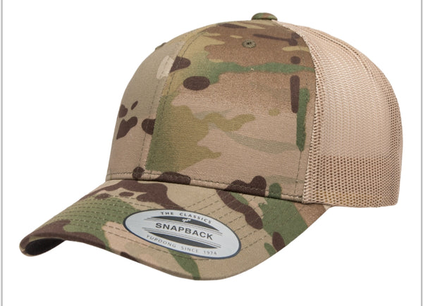 Yupoong multicam snap back
