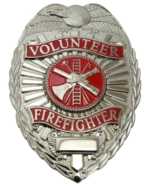 Volunteer Firefighter Badge