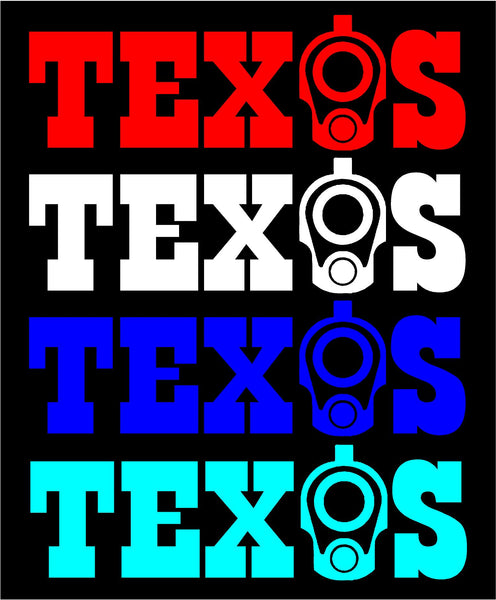 Texas Decal -4 available colors