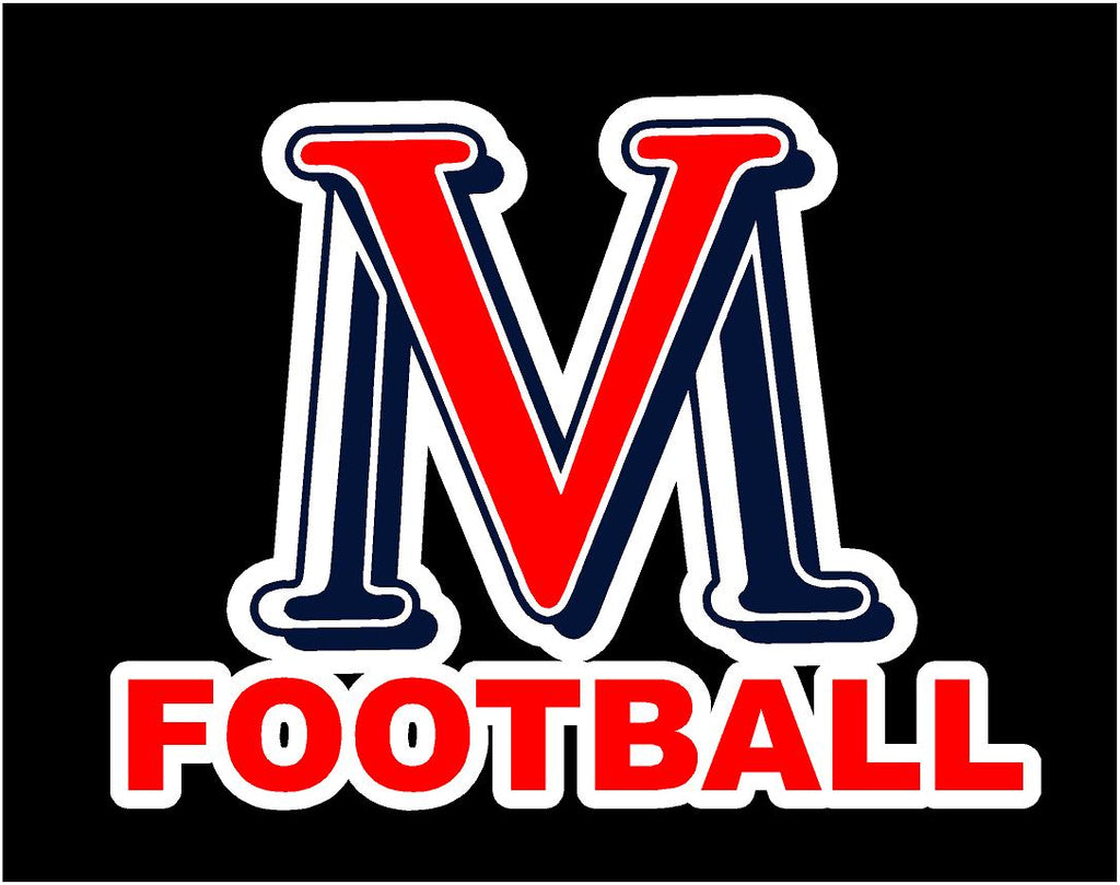 VMHS FOOTBALL DECAL