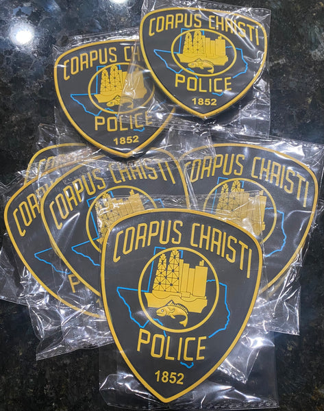 CCPD PVC PATCH w/ Velcro backing ***LEO PURCHASE ONLY***
