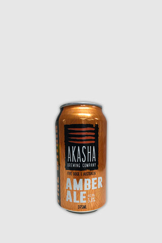 Akasha Brewing Akasha Brewing Fire Within Amber Ale Can 375ml Beer