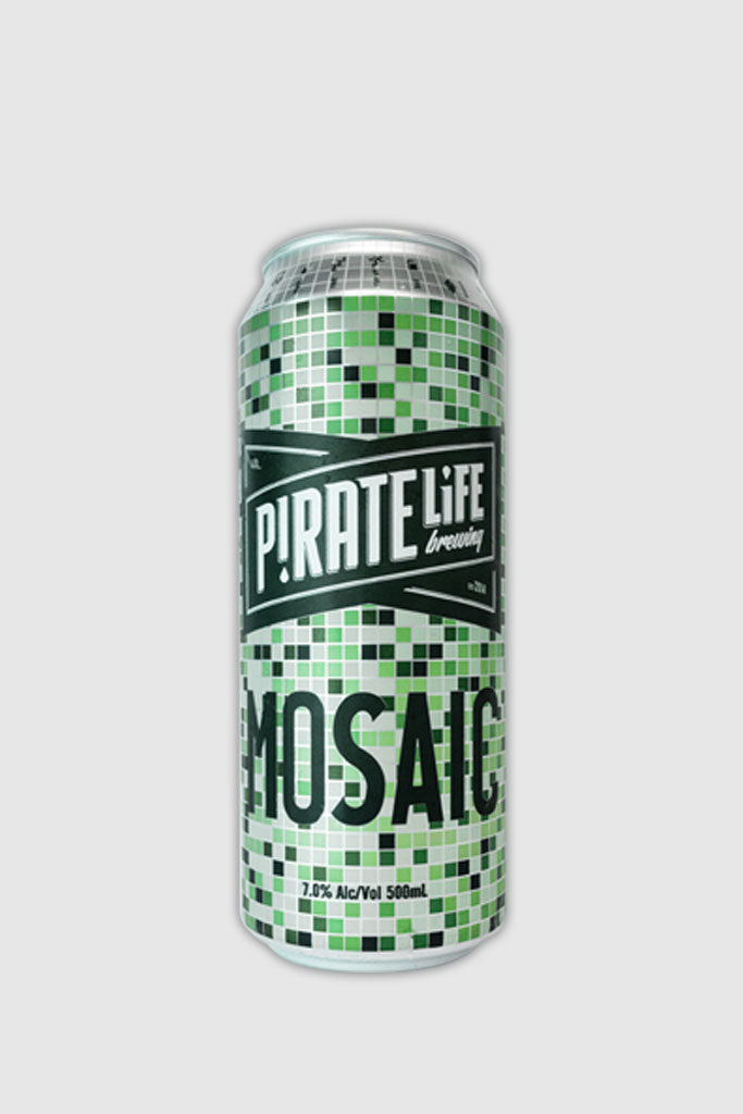 Pirate Life Mosaic Can 500ml