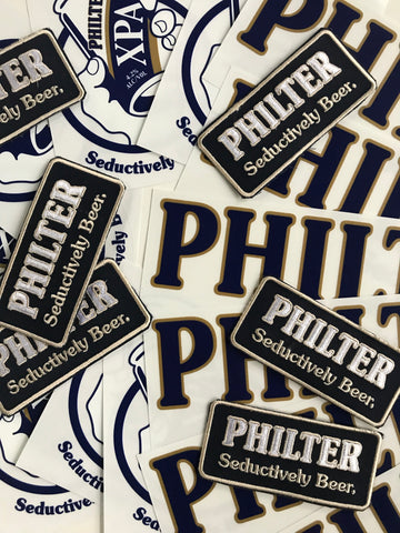 Philter Brewing Philter Brewing Badge, Sticker + stubby holder Pack Other Merch