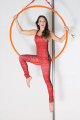 Mono DEPORTES AÉREOS RED DRAGON /  RED DRAGON LYCRA JUMPSUIT
