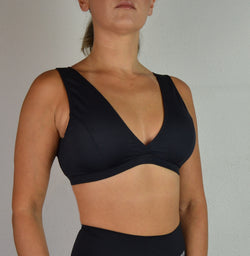 Top Pole Dance NEGRO Espalda Abierta / Sports Bra BLACK Open Back