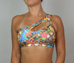 Top Hombro AMAZONIA Tropical  /  Tropical Shoulder Top