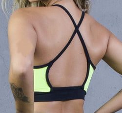 Top Pole Dance Neon / Sport Bra Pole Dance Neon